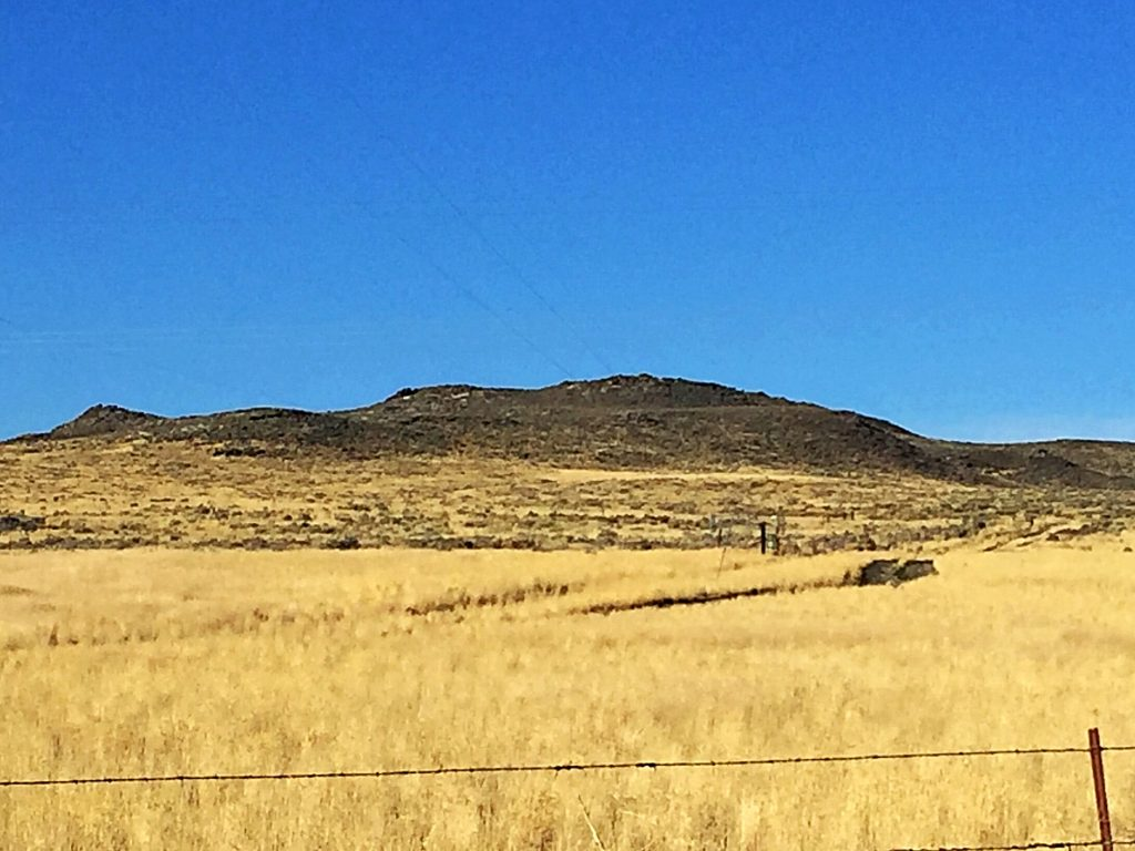Salmon Butte viewed from the east.
