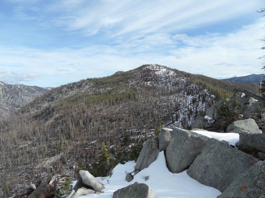 Petes Peak from the west. John Platt Photo