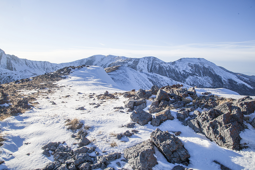 The view from the summit. Larry Prescott Photo