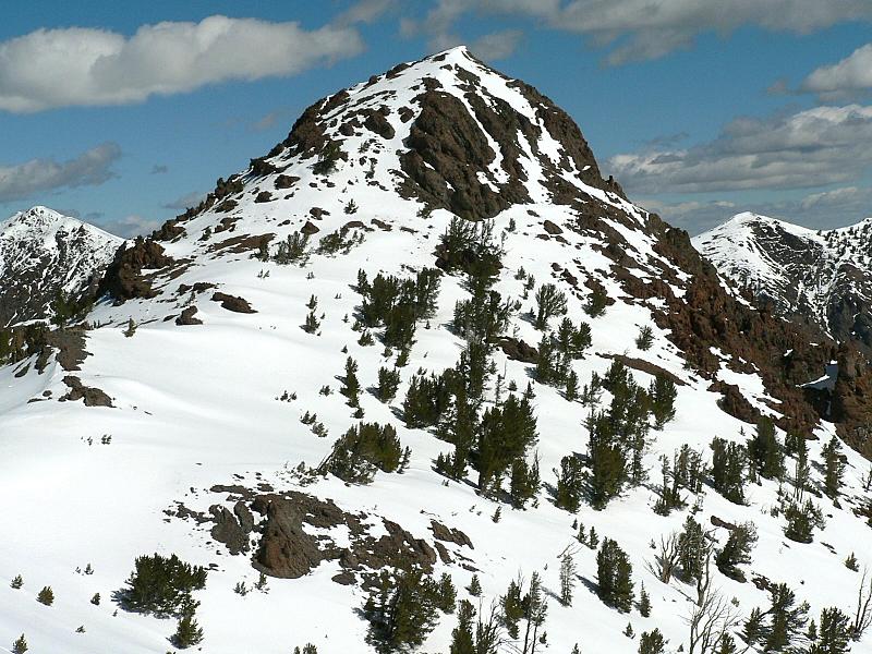 Meridian Peak. Dan Robbins Photo