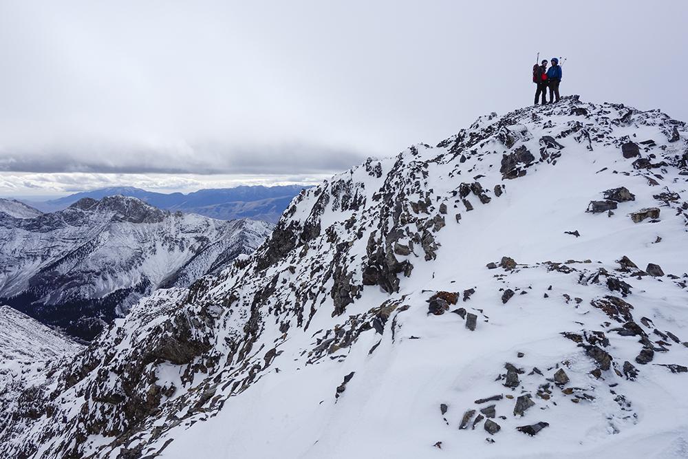 On the summit of Big Boy.