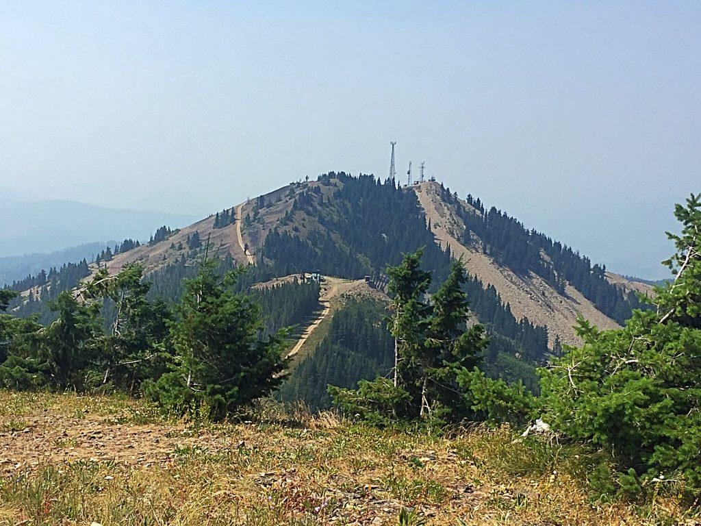Wardner Peak from Kellog Peak.