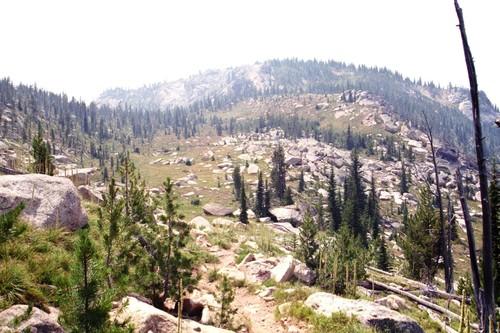 North Basin Trail. Mike Hayes photo.