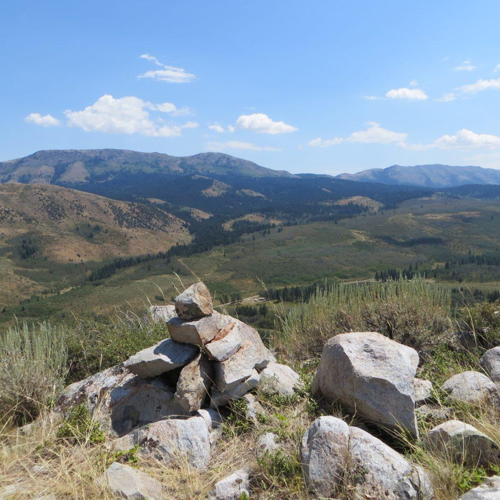 Summit of Peak 6582. Steve Mandella photo.