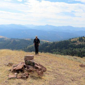 The summit of Peak 7834. Steve Mandella photo.