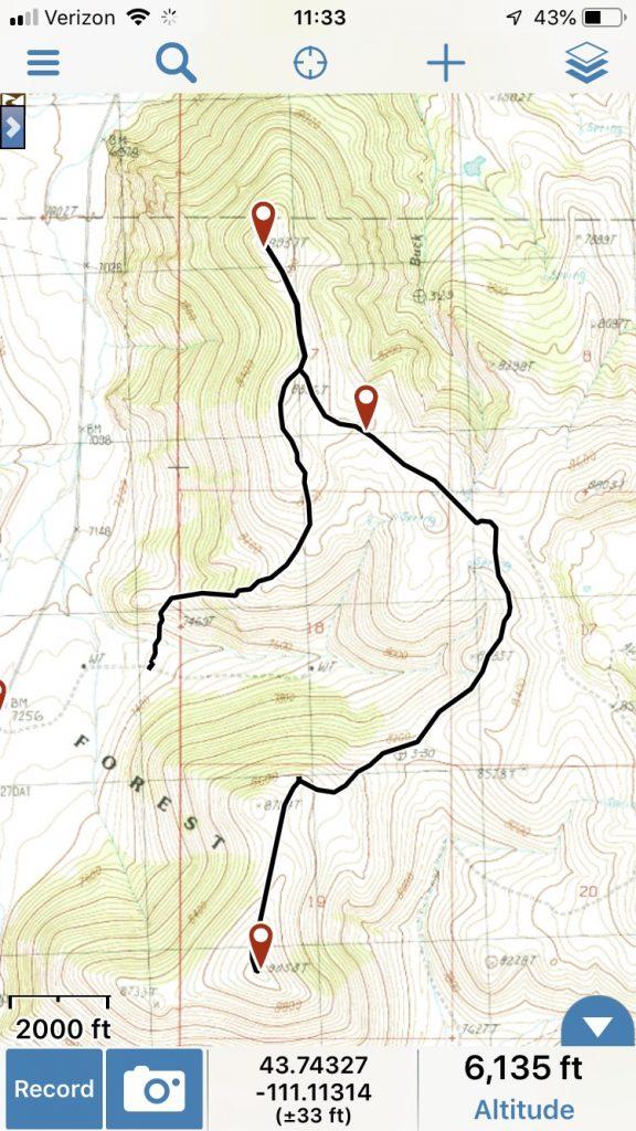 Peak 8937 Track, Margo Mandella