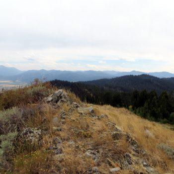 The summit of Squirrel Mountain. Steve Mandella Photo.