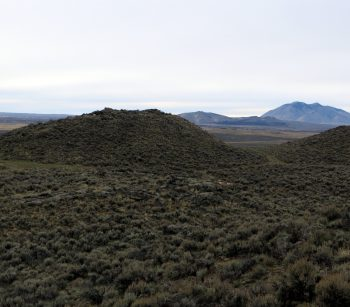View from the summit of Table Legs Butte (Cedar Butte and Big Southern Butte). Photo - Steve Mandella.