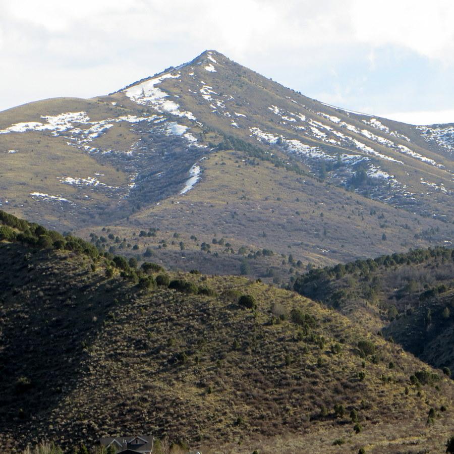 Peak 6495. Photo - Steve Mandella