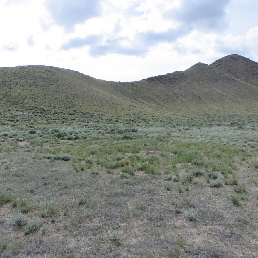 Snaky Peak Southeast Ridge Route. Steve Mandella photo.