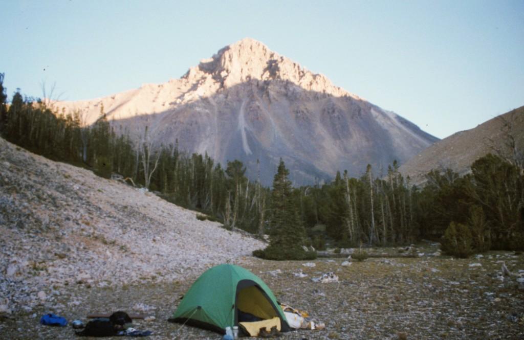 Leatherman Peak from Sawmill Pass.