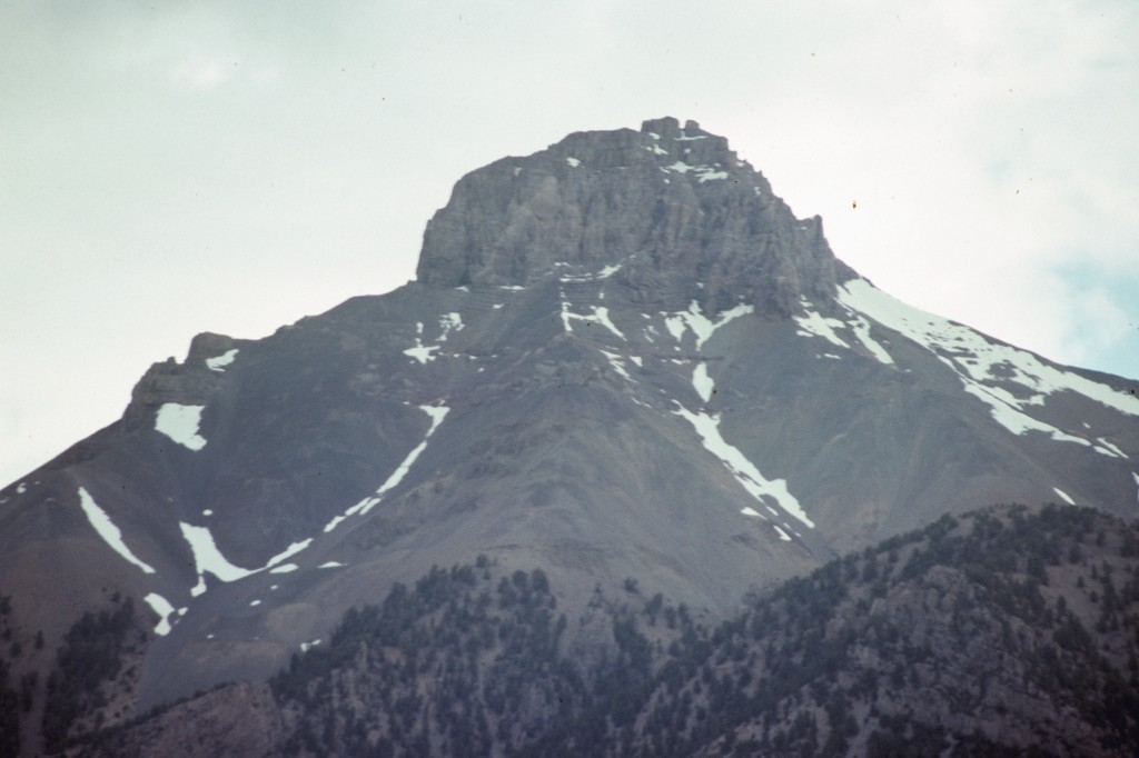 Mount McCaleb from near Mackay, Idaho.