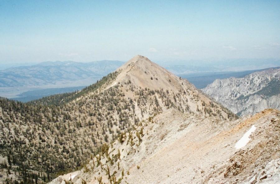McDonald Peak fromPeak 10027.