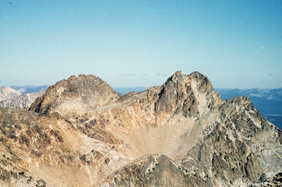 Merrit Peak from Thompson Peak.
