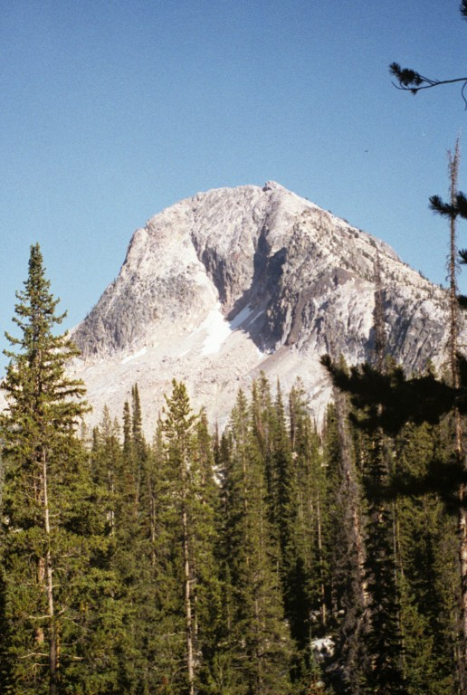 The. north face of Mount Everly