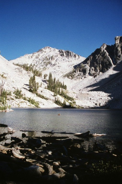 Naneke Peak above Scenic Lake.