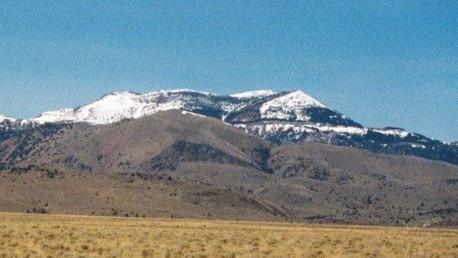Hayden Peak from the Snake River Plain.