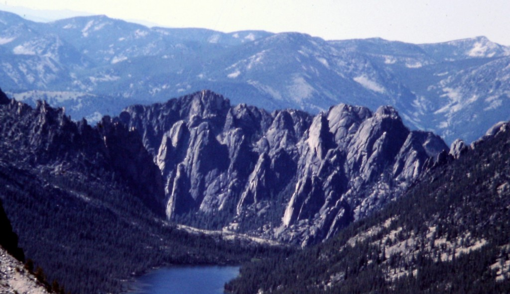 This photo has a bit steeper angle. The Litner Group of granite formations is an enticing looking group of granite formations. I have never met a climber who had visited the area.