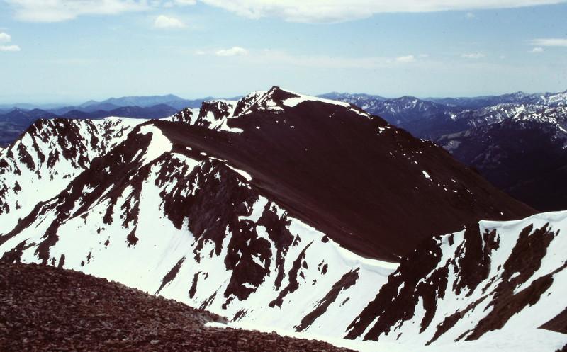 Easley Peak from Cerro Ciento.