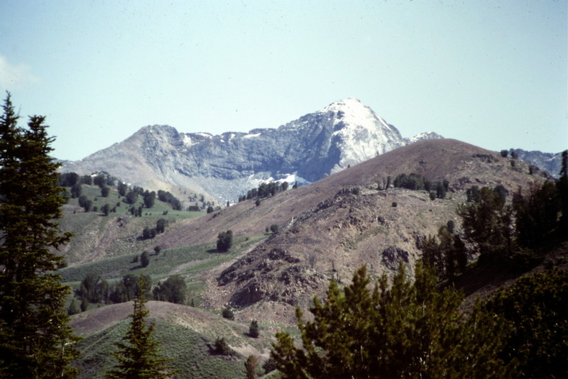 Salzberg Spitzl from the slopes of Johnstone Peak.