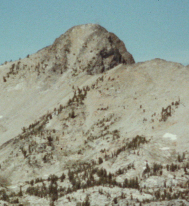 Baron Peak viewed from the southeast.