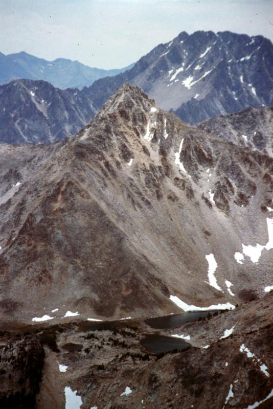 Peak 11272 viewed from Caulkens Peak.