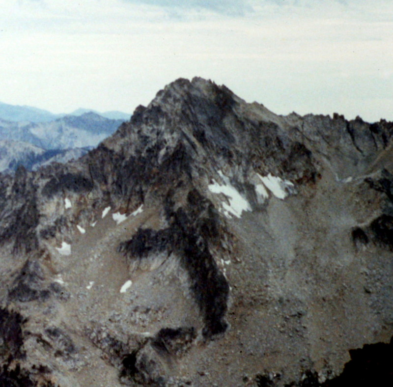 Peak 10330 viewed from Merritt Peak.