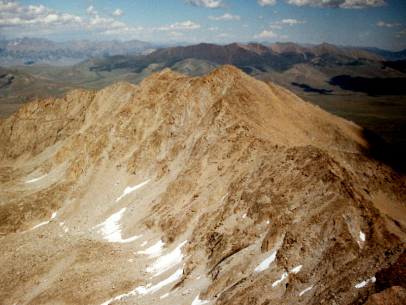 Pyramid Peak from Altair Peak.