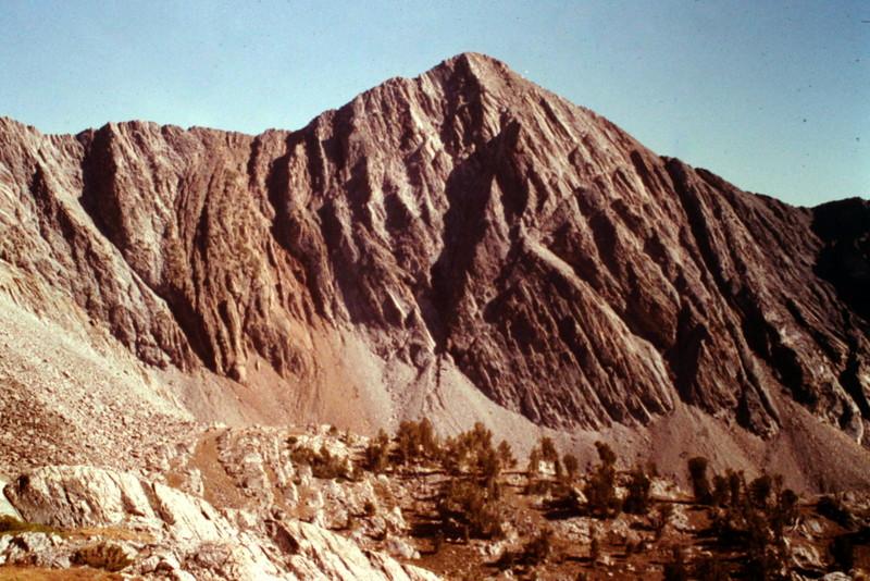 McIntyre Peak viewed from Old Hyndman Peak.