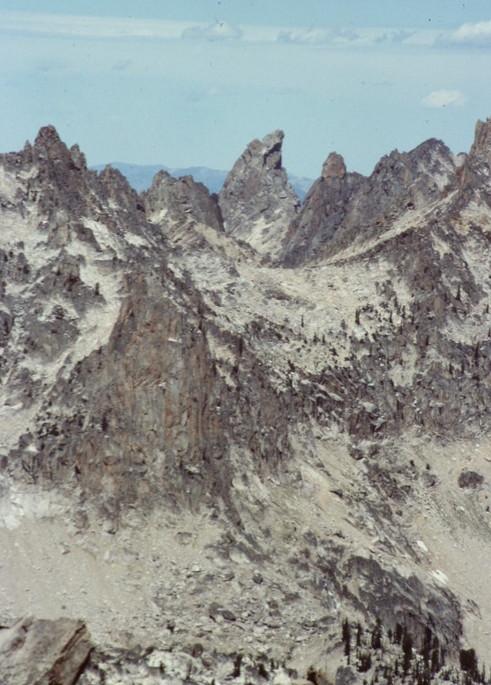 Warbonnett from Elk Peak.