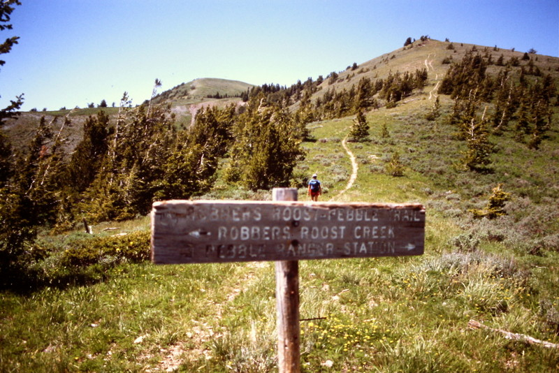 The Portneuf Range encompasses a lot of varied terrain. It is steep but when you reach the crest you will be rewarded.
