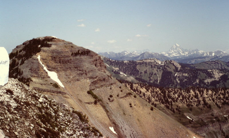 Mount Baird and its bigger Teton neighbors.