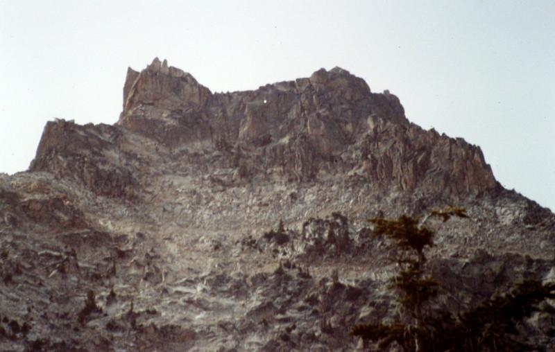 Packrat Peak's east face.