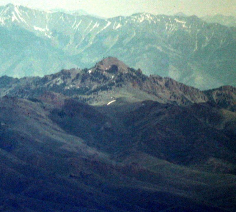 Sheep Mountain from Smiley Mountain.