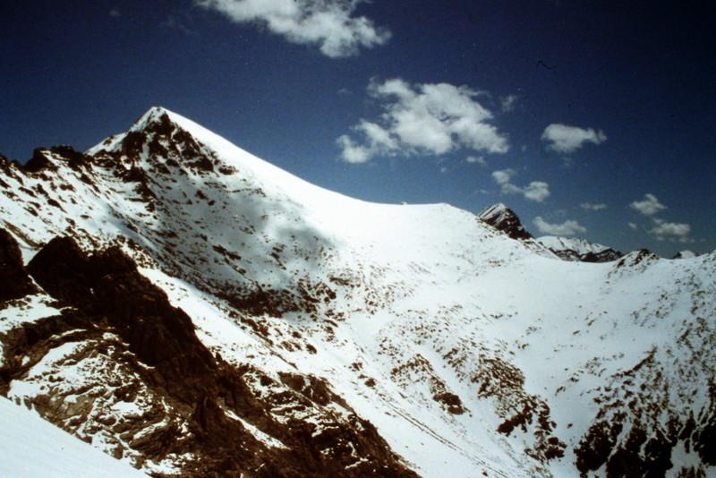 White Cap Peak viewed from the south ridge of Peak 11967.