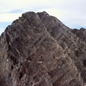 The upper section of the East Ridge.