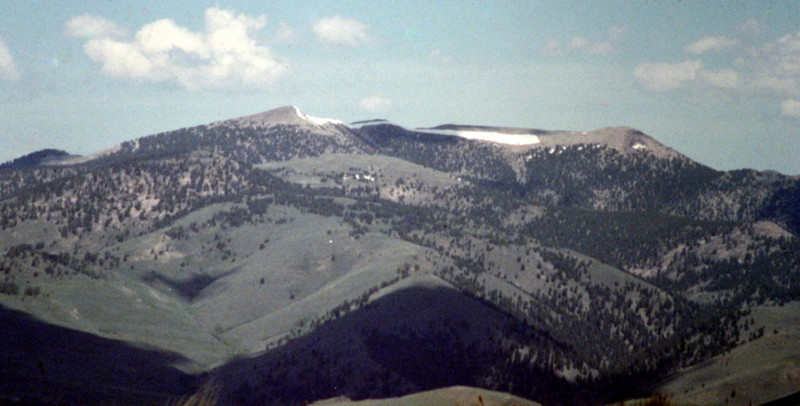 Horse Prairie Peak from Baldy Peak.