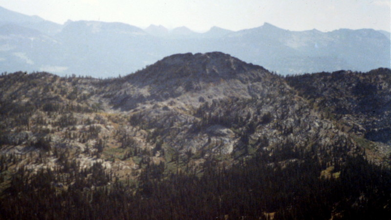 There is a great view of Slab Butte from the lookout.