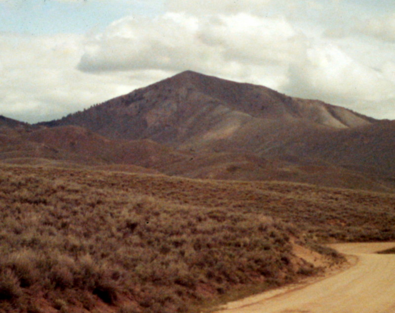 Kelly Mountain from the south.