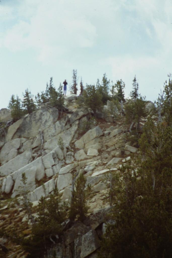 The summit of Storm Peak.