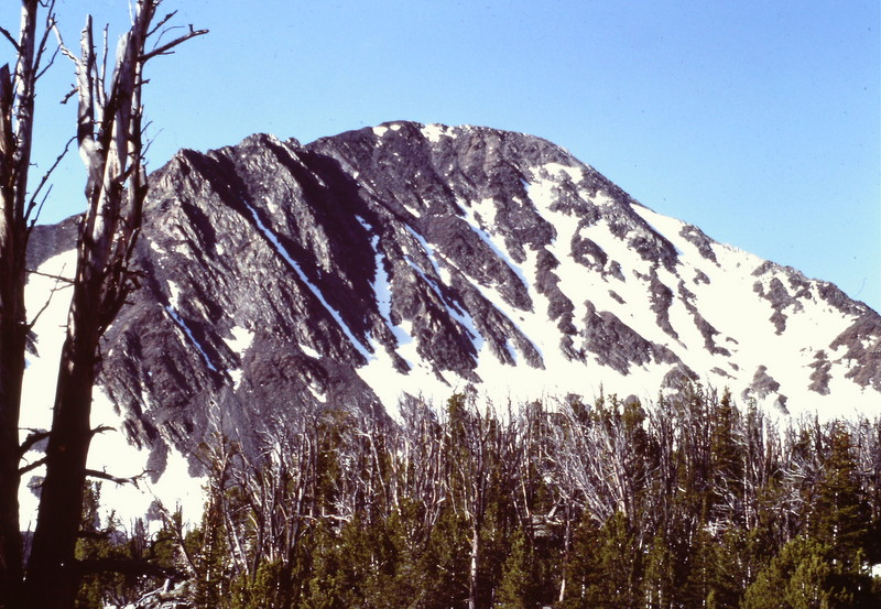 Peak 10456 is located just north of Lem Peak.