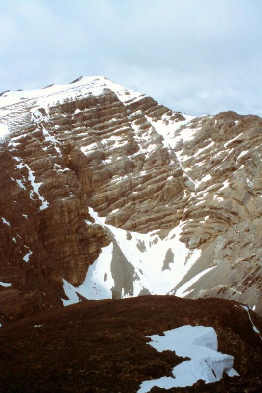 Ross Peak viewed from Peak 11260.