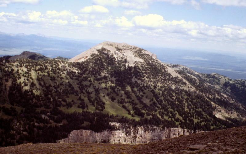 Bald Peak from Targhee Peak.
