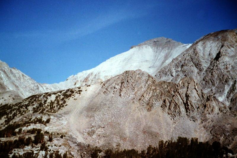 Caulkens Peak from Sapphire Lake.