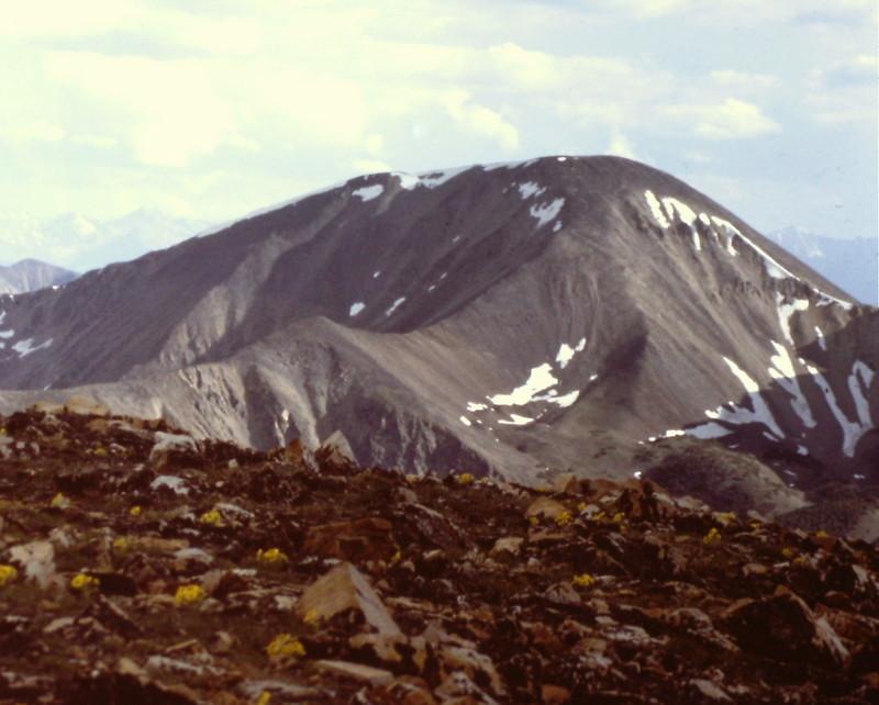Big Creek Peak from the summit of Yellow Peak.