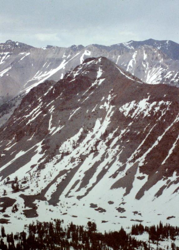 Peak 10613 from Antares Peak.