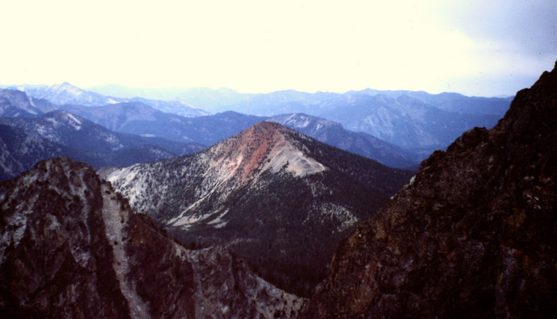 Red Mountain from Cabin Creek Peak (I think--its been a long time).