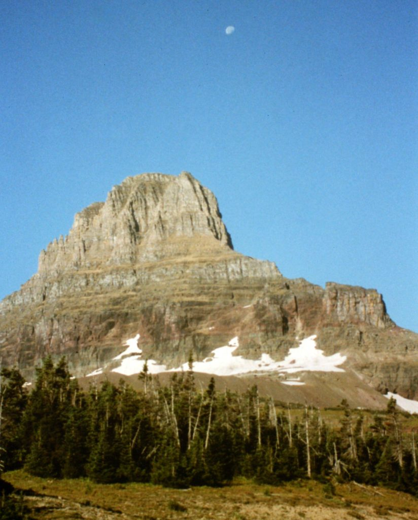 Peakbagging In Glacier National Park 1995 Idaho A