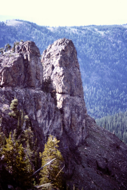 The Devils Tooth from the southeast.