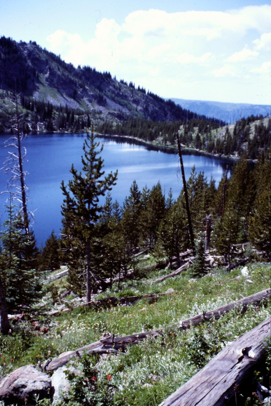 Sheep Lake, the heart of the Seven Devil high country.